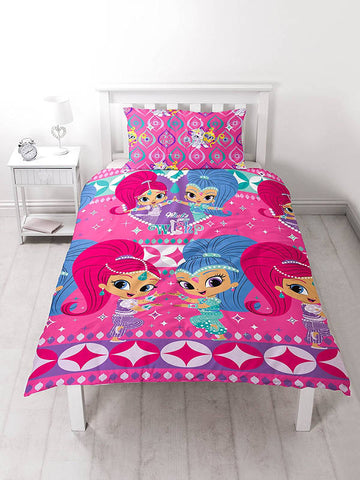 Shimmer And Shine Single Duvet Cover Set Polyester Front