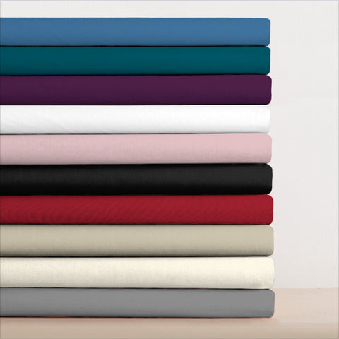 Double Extra Deep Fitted Sheets Polycotton