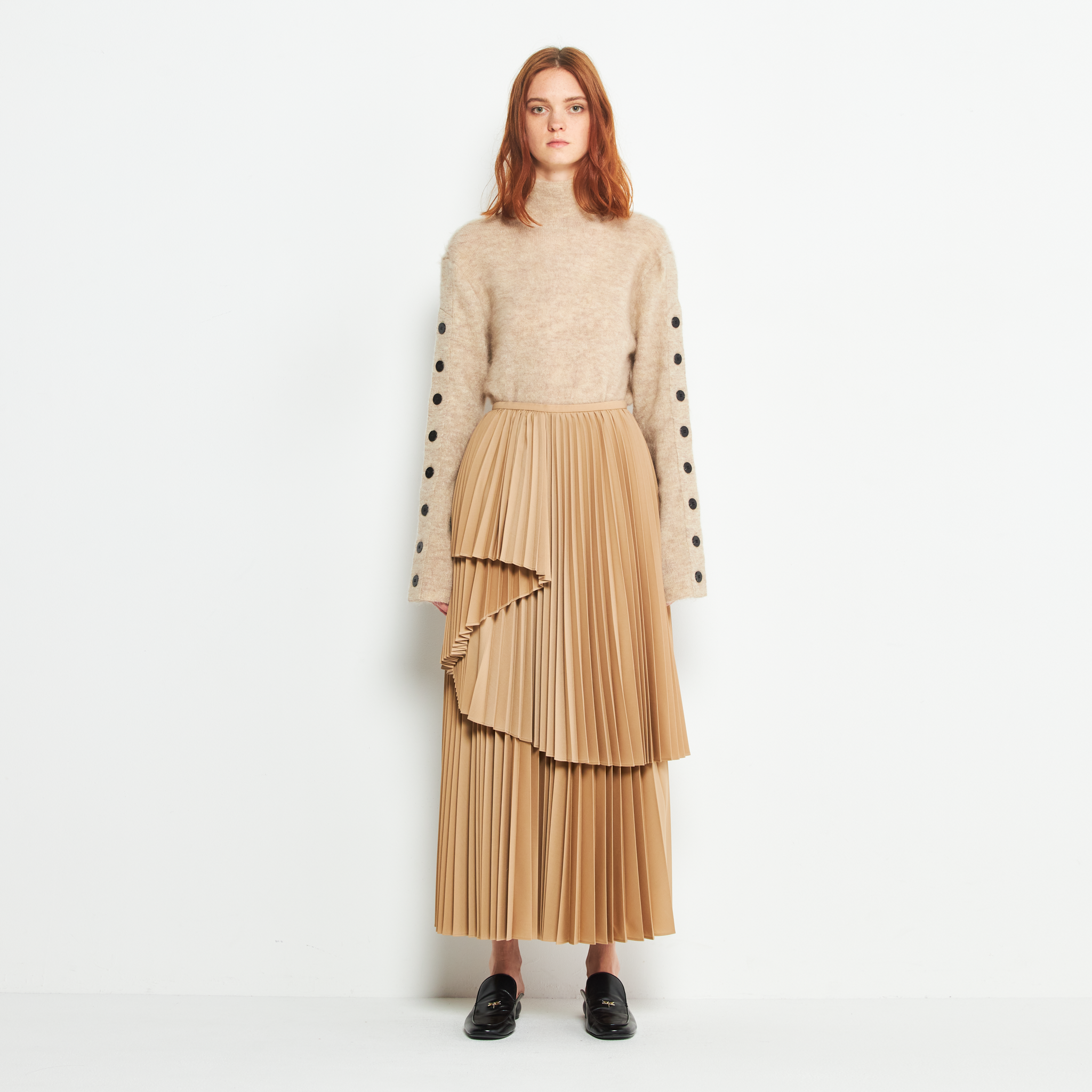 Kim fold layers pleats SK BE
