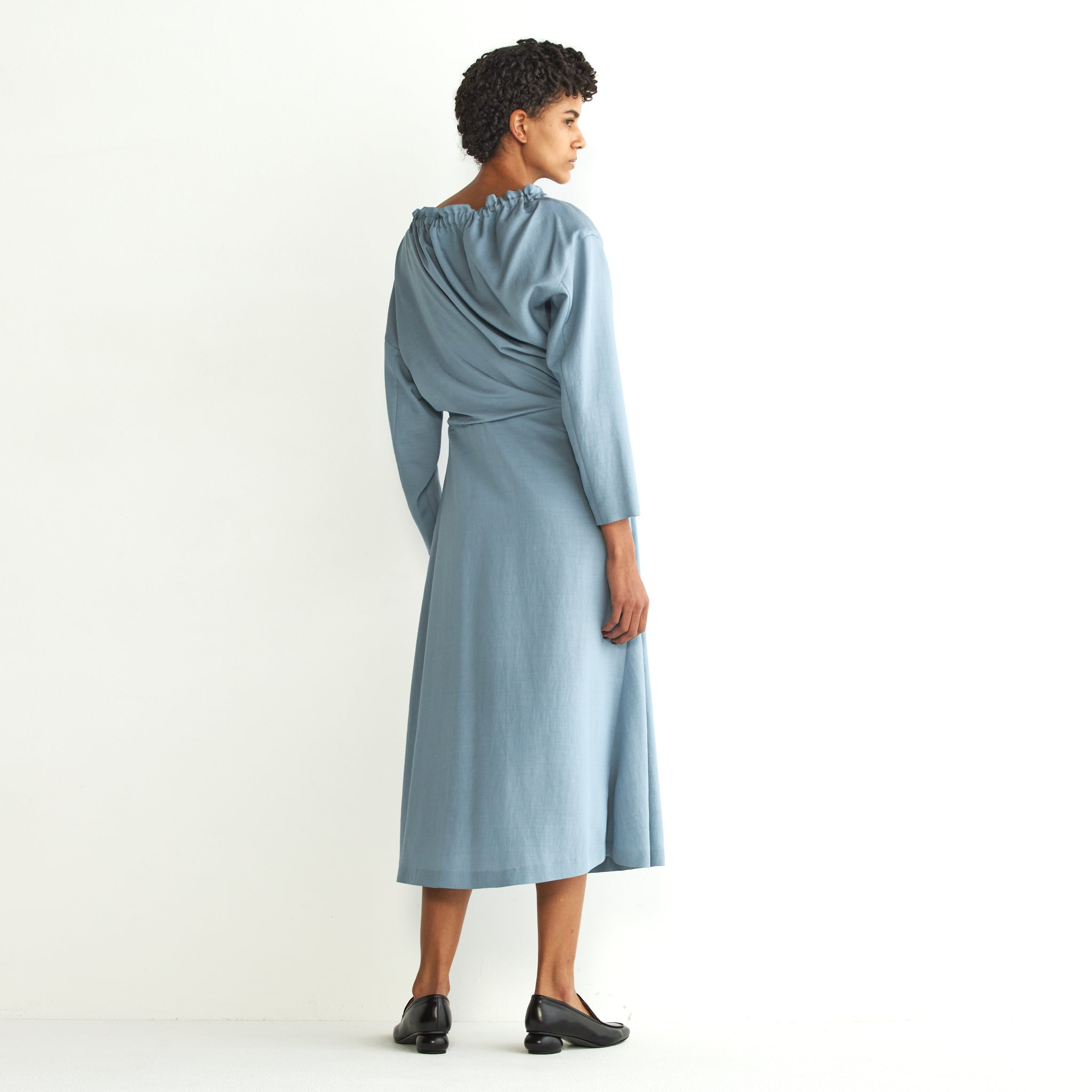 Jiline twist dress BL