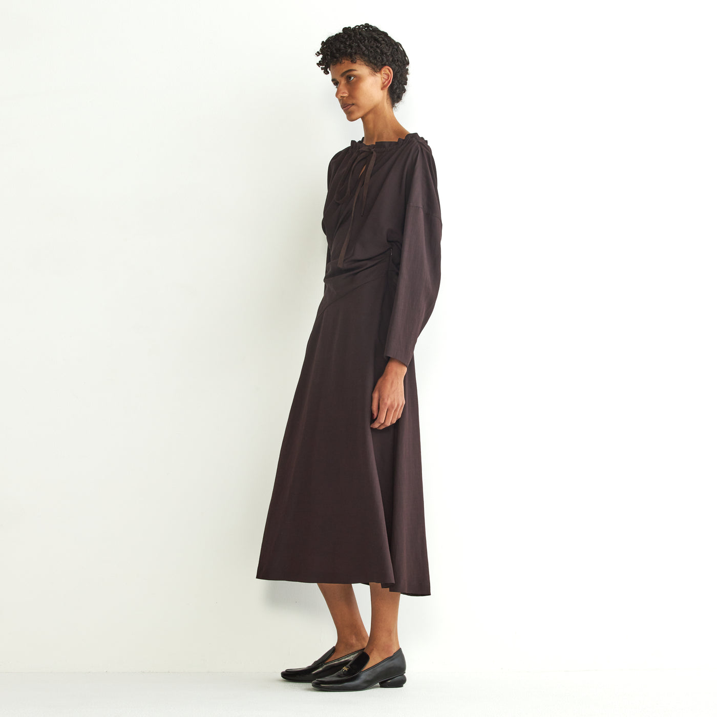 Jiline twist dress BR