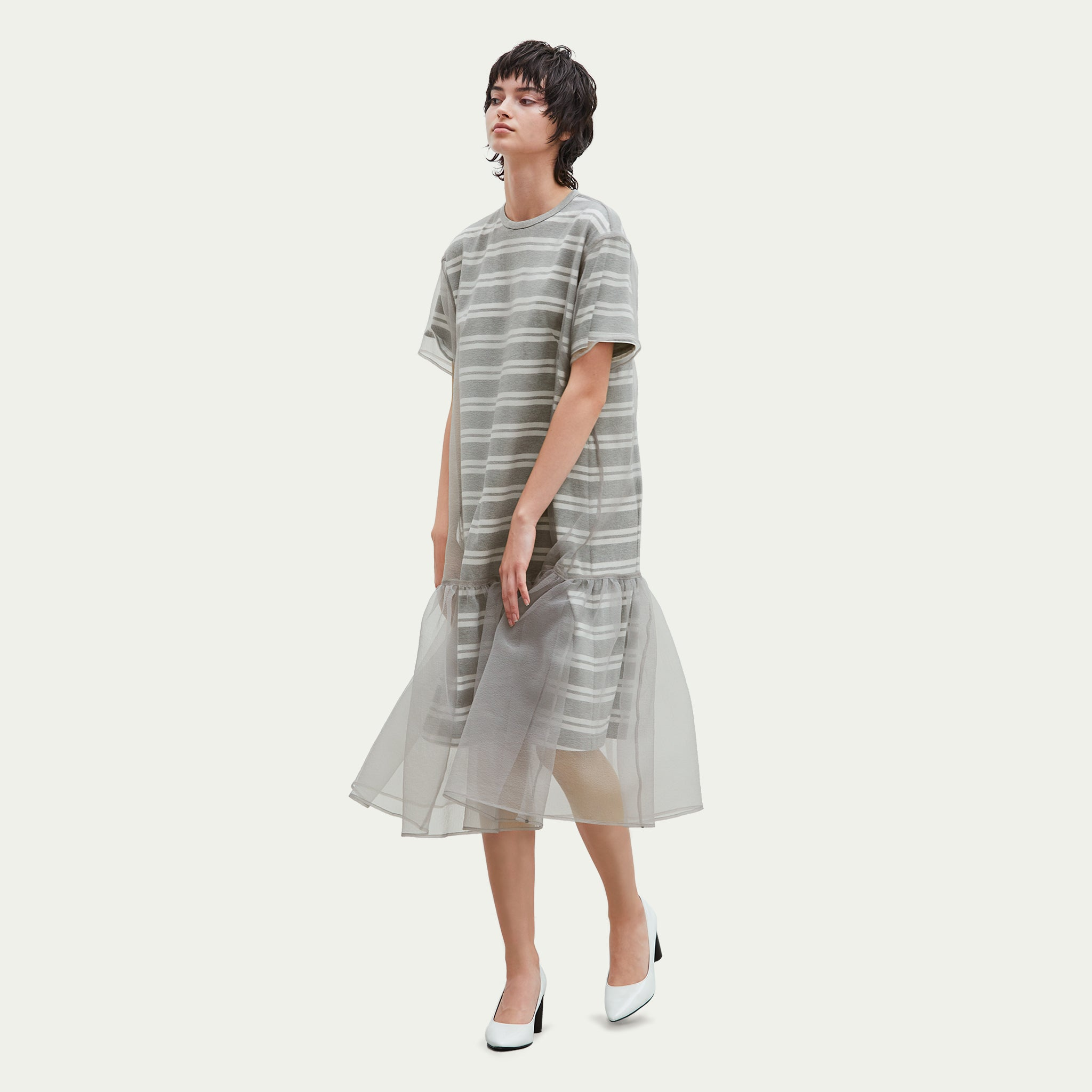 LAYERED ORGANZA DRESS GYWH