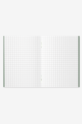 Notebook Passport size - 002. Refill Grid, Office, Midori - Six and Sons