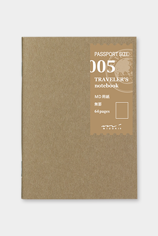 Notebook Passport size - 005. MD paper, Office, Midori - Six and Sons