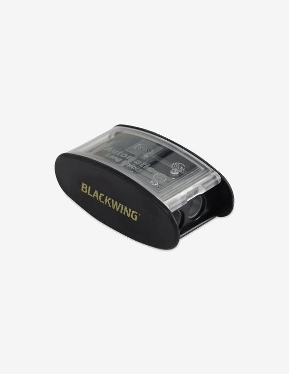 White Palomino blackwing long point pencil sharpener