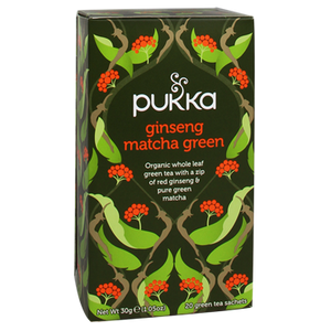 PUKKA tea Gins. Matcha Green Tea BIO