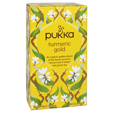PUKKA tea Turmeric Gold Tea BIO