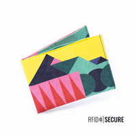 Wallet RFID Secure - Vivid Meadow