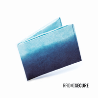 Wallet RFID Secure - Blue Lagoon