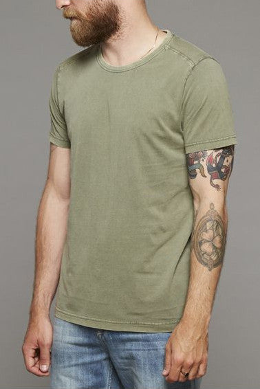 Suit | Bart T-Shirt Dust Green | Six and Sons