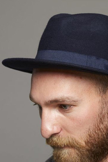 Grand Hat Navy, Clothing Men, Suit - Six and Sons