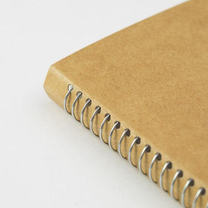 TRC Spiral Ring Notebook (A5 Slim) Blank DW White Paper