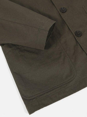 Light Olive Twill Baker Jacket