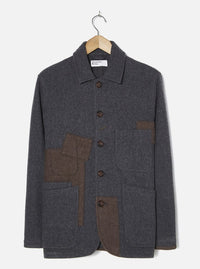 Charcoal Mowbray Patch Jacket