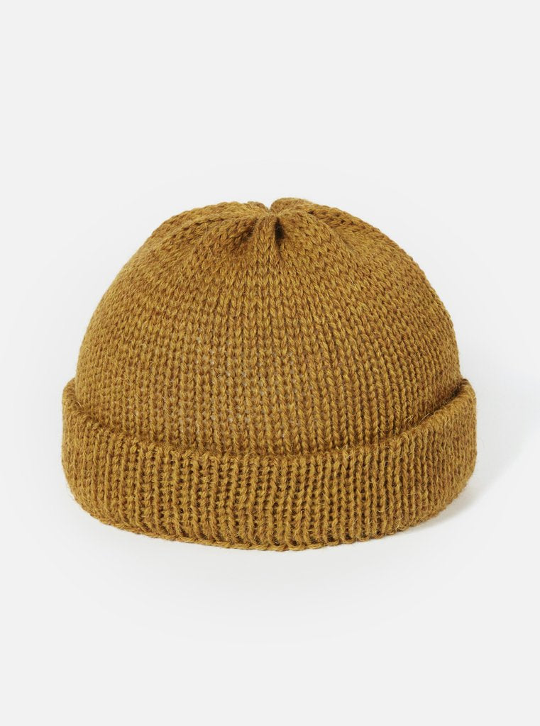 Camel British Wool Short Watch Cap
