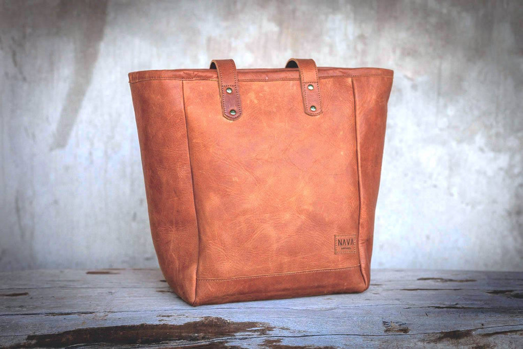 Tote Handbag Diesel Toffee Leather