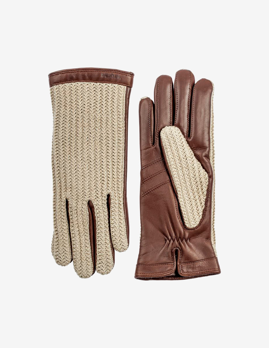 Anna Chestnut Driving Glove