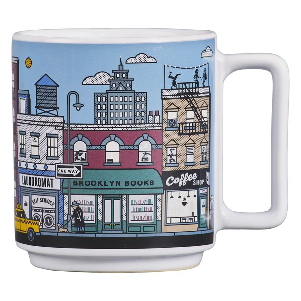 New York Heat-Sensitive Ceramic Mug