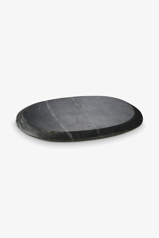 Marble Oval 16x20 cm Black, Interior, H. Skjalm P. - Six and Sons