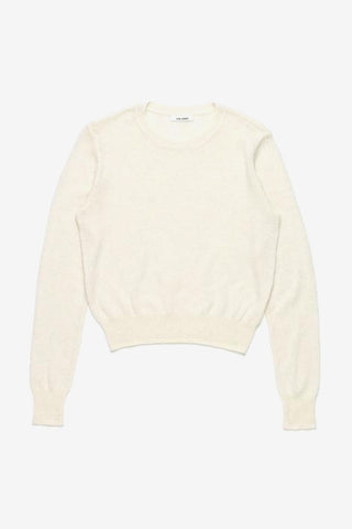 Nué Notes , Eloise R-Neck Knit Cloud Cream, Clothing Women, Nué Notes - Six and Sons