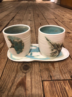 The Couple (2 cups and 1 saucer)