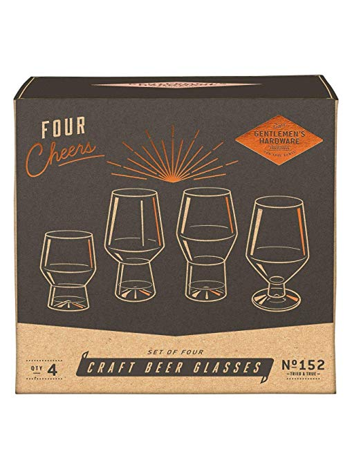 Craft Beer Glasses Set
