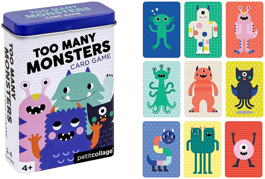 Too Many Monsters - Card Games On The Go