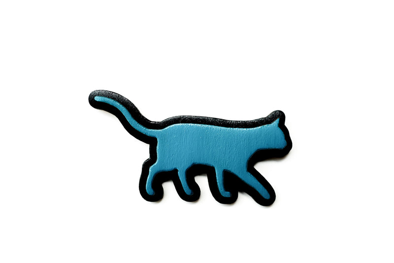 Cat brooches (various colours)
