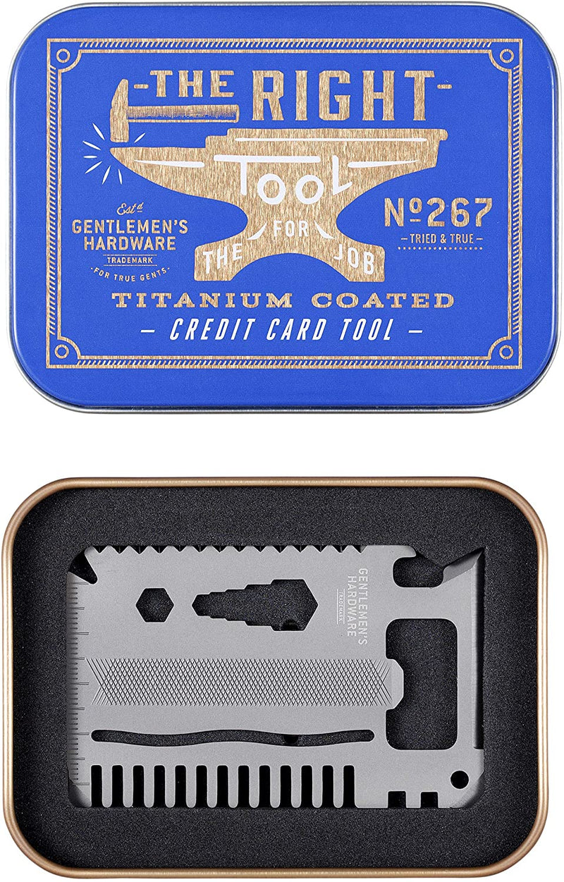 Credit Card Tool Titanium Finish