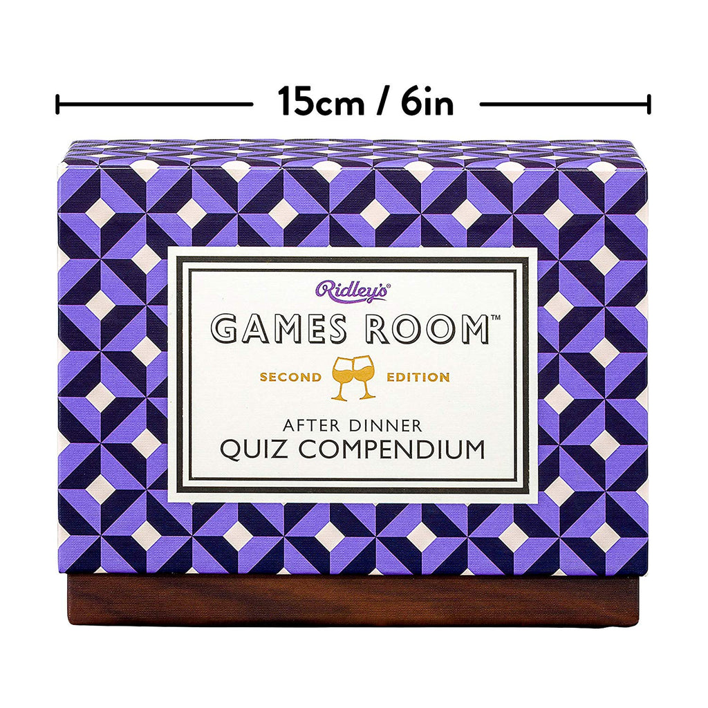 After Dinner Quiz Compendium Second Edition
