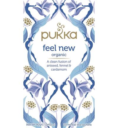 PUKKA tea Feel New Tea BIO