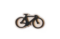 Bicycle brooches (various colours)