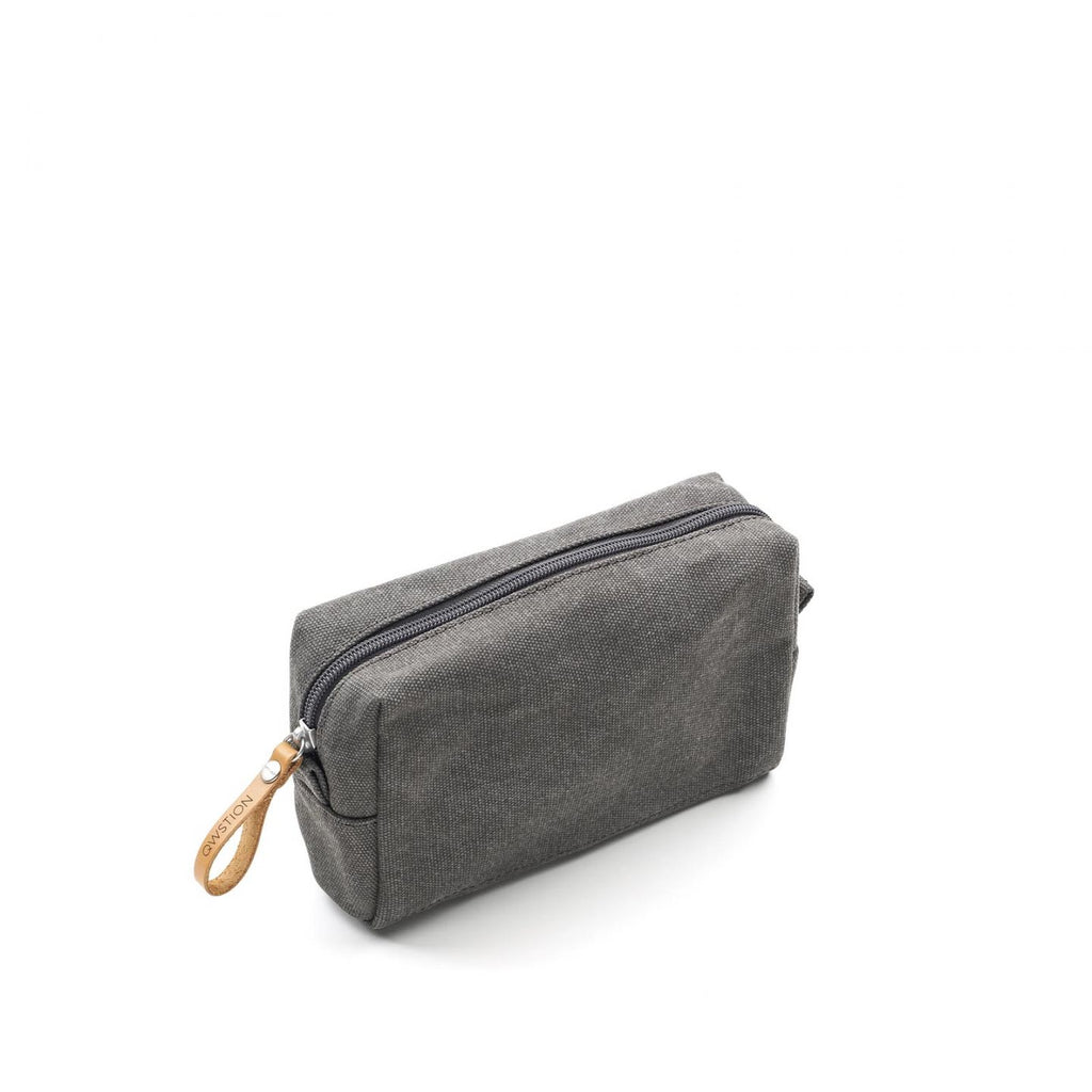 QWSTION Amenity Pouch Washed Grey