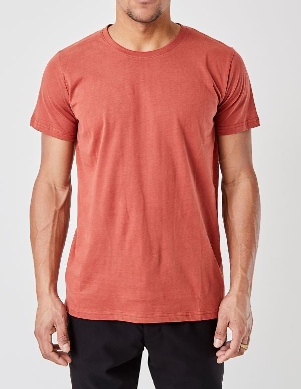Anton T-Shirt Dusty Red