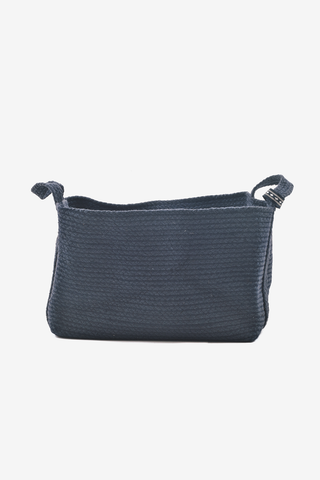 Square Basket Navy, Decoration, YUYU Amsterdam - Six and Sons