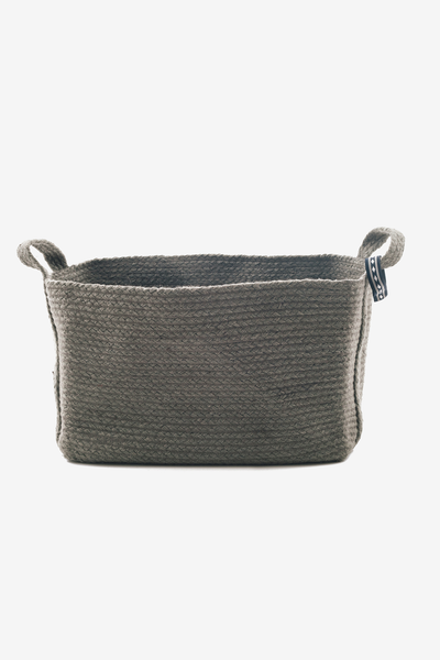 Square Basket Green, Decoration, YUYU Amsterdam - Six and Sons