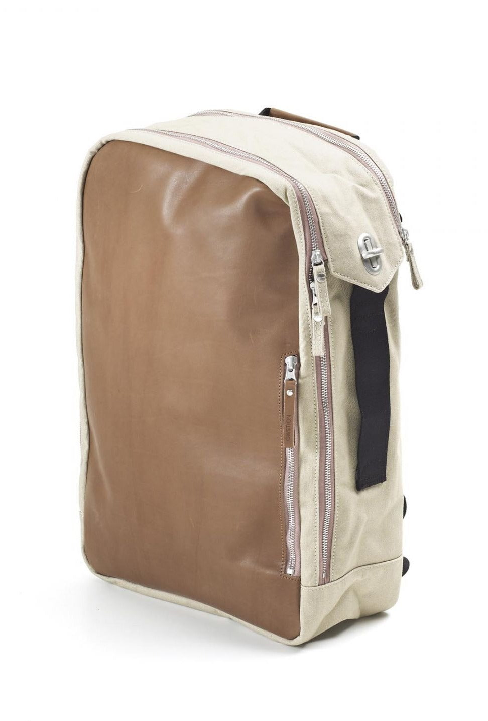 Backpack Brown Leather Canvas