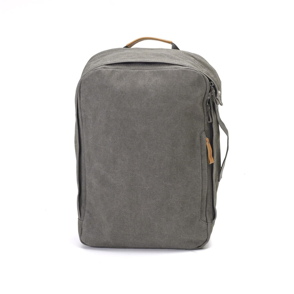 Backpack Organic Washed Grey