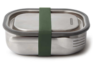 Stainless Steel Lunch Box 600ml - 20x15xH6,5cm