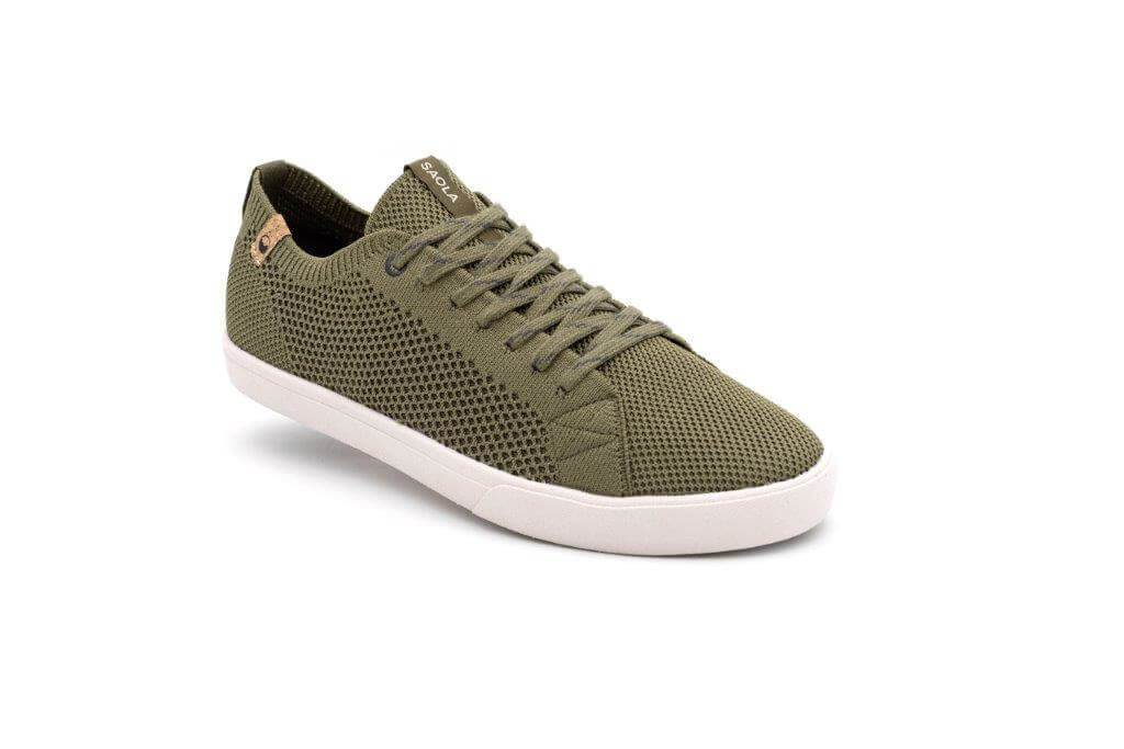 CANNON KNIT BURNT OLIVE - SAOLA