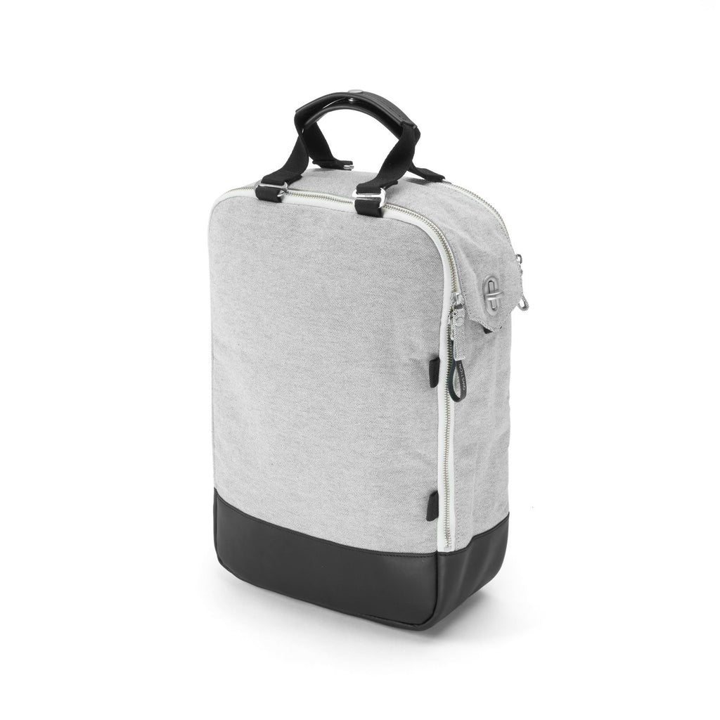 Daypack Raw Blend Leather Canvas