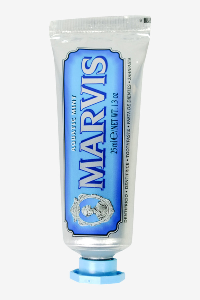 Marvis Toothpaste Aquatic Mint 25ml, Personal Care, Marvis - Six and Sons