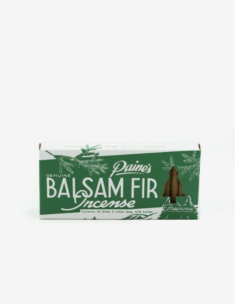 Balsam Fir Incense 24 Sticks & Holder