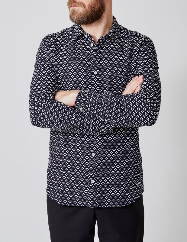 Decker Shirt Dark Navy