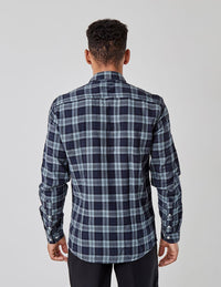 Douglas Check Shirt Grey