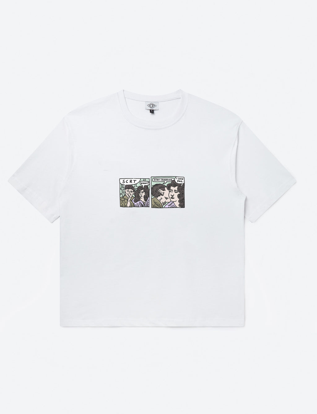 Lovers Tee White