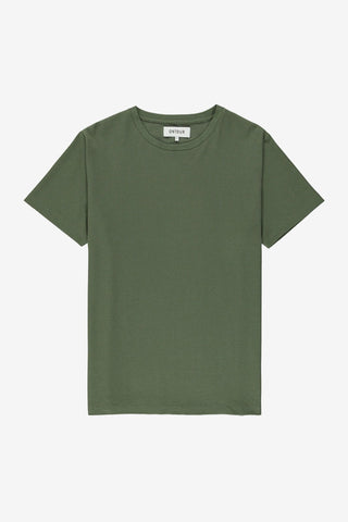 Grid T-Shirt Moss, Clothing Men, Ontour - Six and Sons