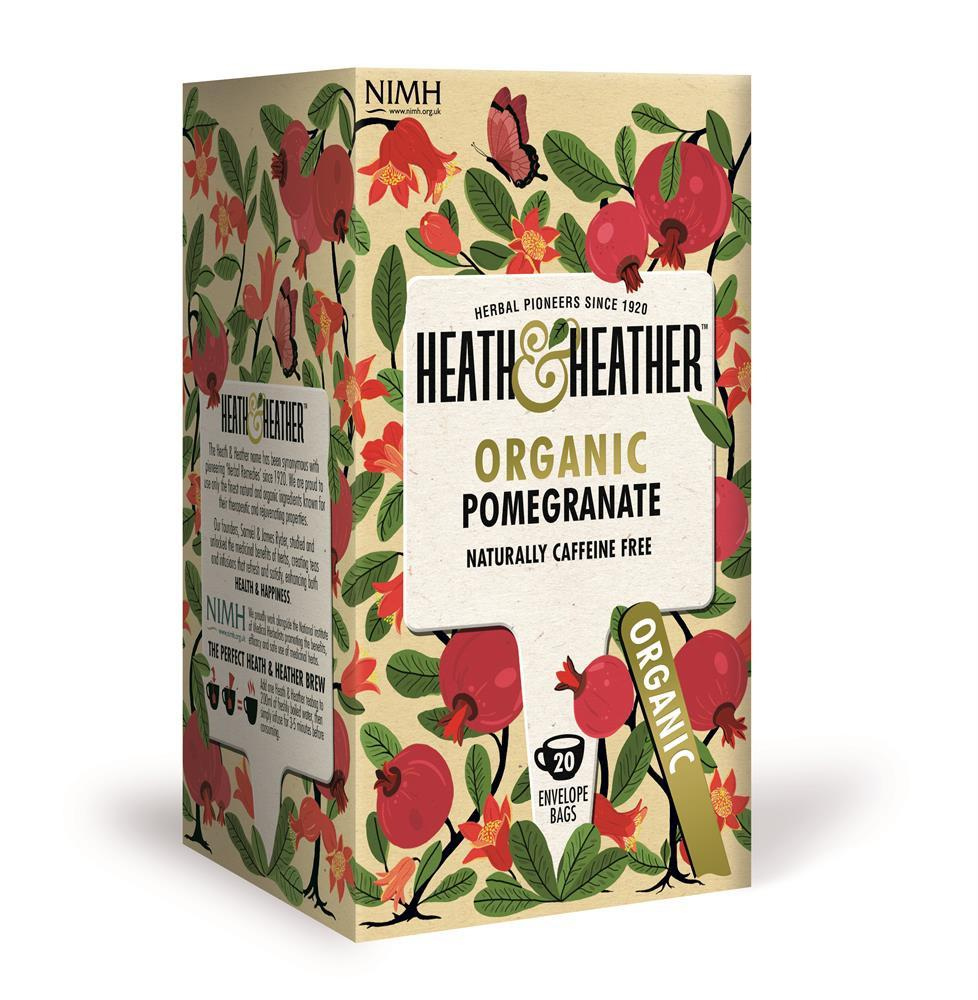 Organic Pomegranate Tea (20 Bags)