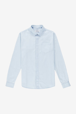 Hide Shirt Light Blue Denim, Clothing Men, Ontour - Six and Sons