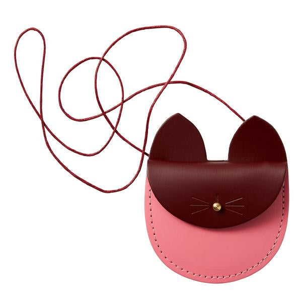 Cat Purse - Bright Pink